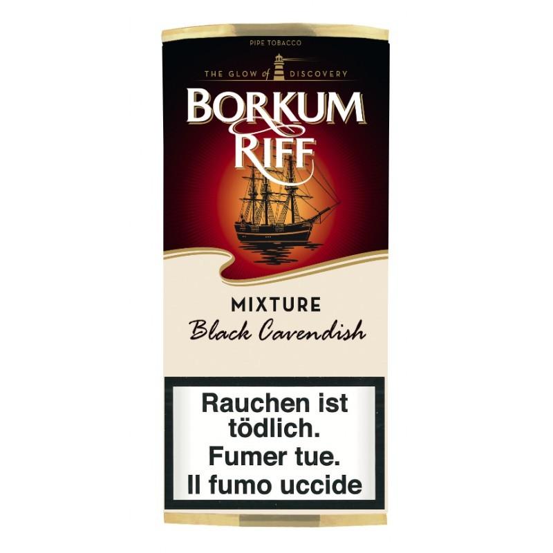 Borkum Riff Black Cavendish Pfeifentabak