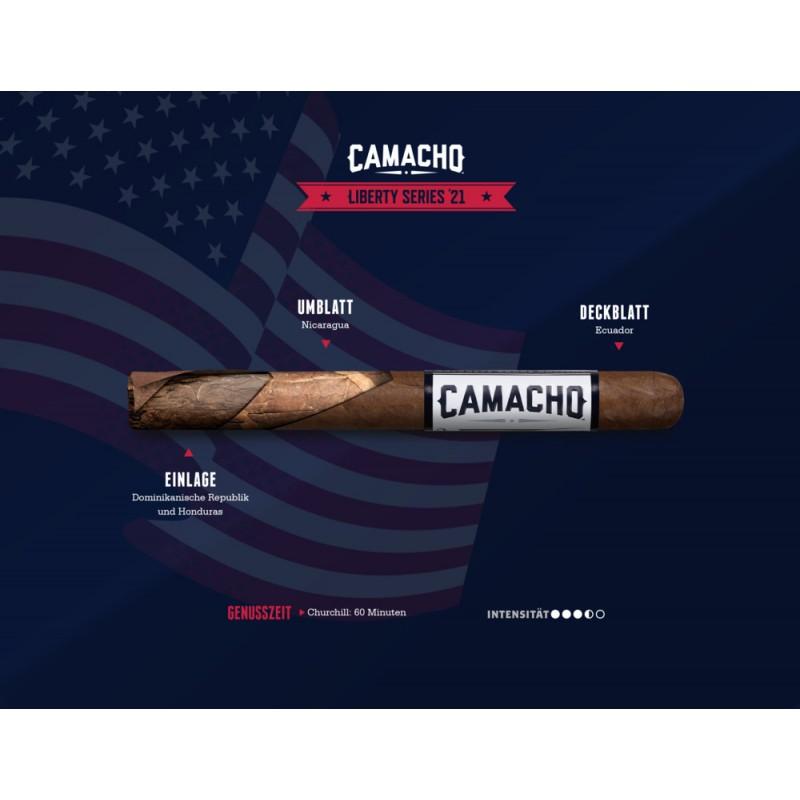Camacho Liberty 2021 einzelne Zigarre